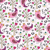 Vector background for valentines day. Royalty Free Stock Images