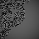 Vector background with vintage pattern. Royalty Free Stock Image