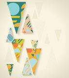 Vector background vintage style.Can be use for covers, posters Stock Photo