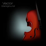 Vector background violin. A illustration of  background violin Stock Photography