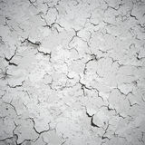 Vector background - wall covered with cracks. And stains Stock Image