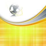 Vector background with wavy lines Royalty Free Stock Images