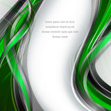 Vector background with wavy lines Royalty Free Stock Photo