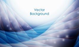 Vector background with wavy lines Stock Photo