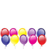 Vector Background With Balloons Stock Images