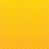 Vector background. Yellow and orange honeycomb. Royalty Free Stock Photos