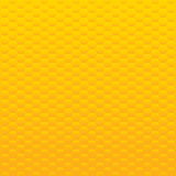 Vector background. Yellow and orange honeycomb. Stock Image