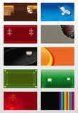 Vector backgrounds Royalty Free Stock Photos