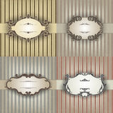 Vector backgrounds for design Stock Images