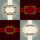 Vector backgrounds for design royalty free stock images