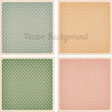 Vector backgrounds set Stock Photo