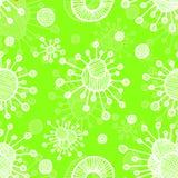 Vector  bacterial background. Eps10. Vector abstract seamless ethnic bacterial background. Eps10 Stock Image