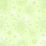 Vector  bacterial background. Eps10 Stock Image