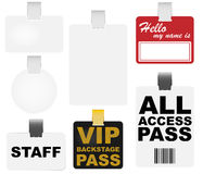 Vector Badges Stock Photography