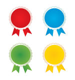 Vector badges Royalty Free Stock Photos