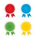 Vector badges Royalty Free Stock Photos