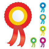 Vector badges Royalty Free Stock Images