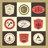 Vector badges Royalty Free Stock Photography