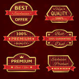 Vector badges and labels Stock Photos