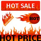 Vector badges shop product hot sale best price stickers buy commerce advertising tag discount promotion vector Royalty Free Stock Images