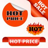 Vector badges shop product hot sale best price stickers buy commerce advertising tag discount promotion vector Royalty Free Stock Image