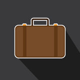Vector of bag case design icon. Royalty Free Stock Photo