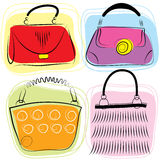 Vector bags Stock Photo