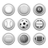 Vector Ball Icons. Eps8. (Easy Change Colors) Enjoy Royalty Free Stock Image