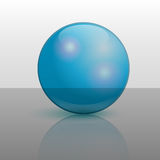 Vector ball illustration Stock Images
