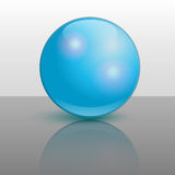 Vector ball illustration Royalty Free Stock Photos