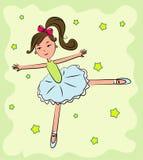 Vector ballerina Stock Foto
