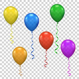 Vector ballon for party, birthday Royalty Free Stock Photos