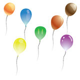 Vector balloons Royalty Free Stock Photo