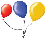 Vector balloons Royalty Free Stock Image