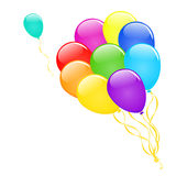 Vector balloons. Stock Photo