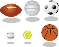 Vector Balls Royalty Free Stock Photos