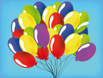 Vector baloon Royalty Free Stock Image