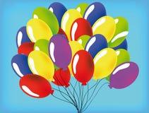 Vector baloon Royalty-vrije Stock Afbeelding