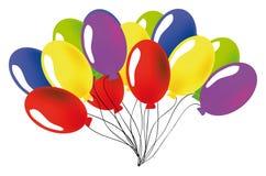 Vector baloon Stock Afbeelding