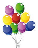 Vector baloons Stock Image