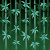 Vector Bamboo Illustration Stock Images