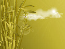 Vector bamboo template. Eps10. Abstract vector bamboo template with copy space. Eps10 Royalty Free Stock Photos