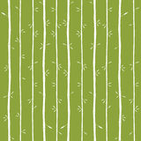 Vector Bamboo Texture Stock Image