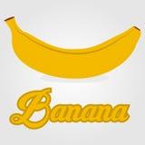 Vector banana fruit Stock Photo