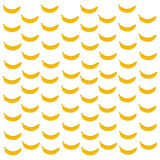 Vector  banana pattern. Vector image banana pattern for background Stock Photos