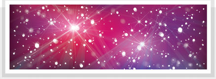Vector  banner for design. Stock Photography