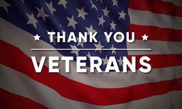 Free Vector Banner Design Template For Veterans Day. Royalty Free Stock Images - 129761219