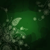 Vector banner in Eastern style Traditional decor Royalty Free Stock Photos