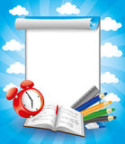Vector banner. Education. Stock Images