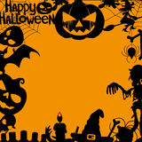 Vector banner. Halloween. Royalty Free Stock Images